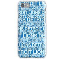Detroit Lions Inspired iPhone Case/Skin