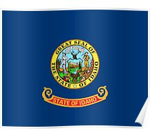 State Flags of the United States of America -  Idaho Poster