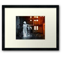 The Rain Inside Framed Print
