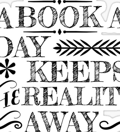 A book a day... Sticker