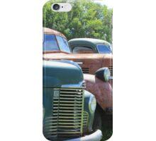Antique Trucks in a Row iPhone Case/Skin