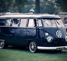 VW camper van by Martyn Franklin