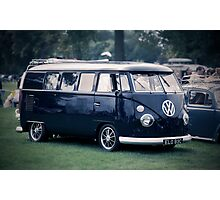 VW camper van Photographic Print