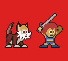 Thundercats 8bit Lion-O and Snarf no text One Piece - Long Sleeve