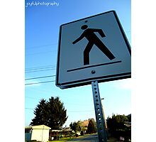 Walk This Way Photographic Print