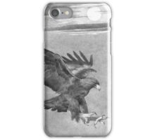 Moon on The Wing iPhone Case/Skin