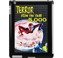 Terror from the year 5000 vintage iPad Case/Skin