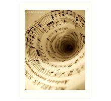 Music Surrounding Art Print