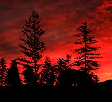 October Sky - Sunrise in the Country by frame-by-frame