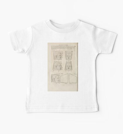 Famous Painter Parts Human Body Symmetry Four Books Geomety 1557 Albrecht Durer 0164 Heads Baby Tee