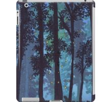 Twilight Woods and Fireflies. iPad Case/Skin