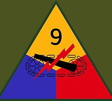 9th Armored Division (United States - Historical) by wordwidesymbols