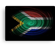 South Africa Twirl Canvas Print