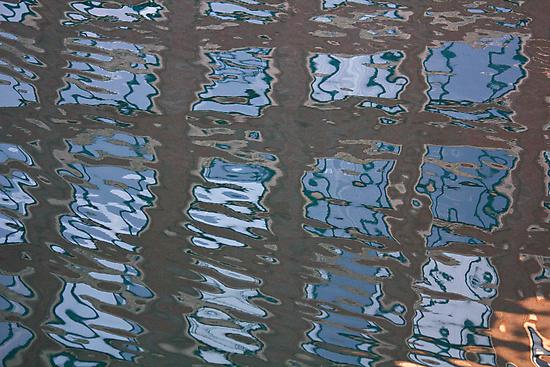 Watery Windows by Lynn Wiles