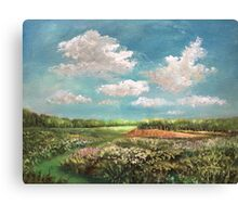 The Light of Early Summer Canvas Print