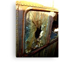 Your Getting Out Thru The Window Canvas Print