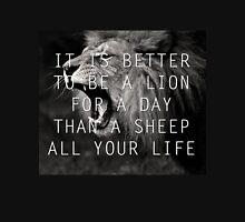 Rather Be a Lion Unisex T-Shirt