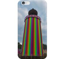 Glastonbury Ribbon Tower by day iPhone Case/Skin