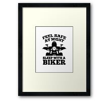 Feel Safe At Night Framed Print