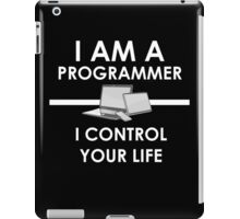 I am a programmer iPad Case/Skin