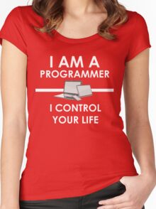 I am a programmer Women's Fitted Scoop T-Shirt