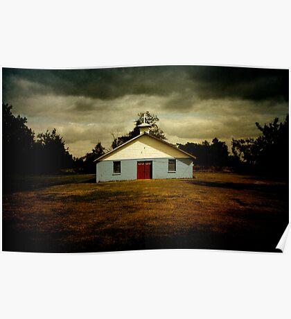 """Rural Church"" - Arkansas Poster"