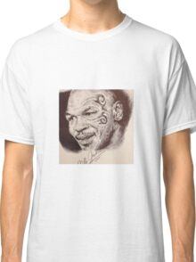 Portrait of Mike Tyson Classic T-Shirt