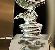 1955 Rolls Royce Hood Ornament by Jill Reger