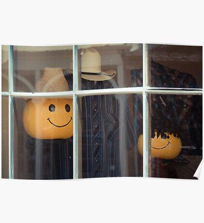 """Window Display"" Vicksburg, Mississippi Poster"