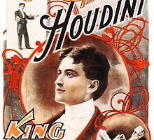 Harry Houdini Master of Cards Vintage by Vintage Designs