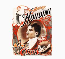 Harry Houdini Master of Cards Vintage T-Shirt