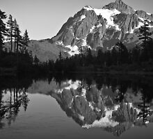 Mountain & Reflection by Appel