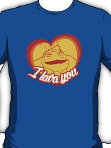 I Lava You (Heart) T-Shirt