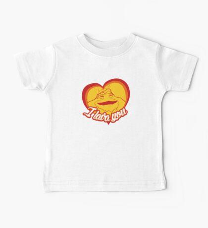 I Lava You (Heart) Baby Tee