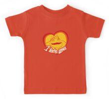 I Lava You (Heart) Kids Tee