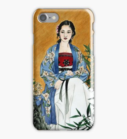 Lady of the Garden iPhone Case/Skin