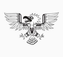 Mayan Eagle One Piece - Short Sleeve