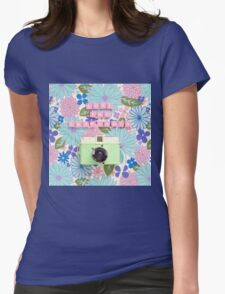 Love and Snapshots  Womens Fitted T-Shirt