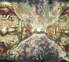 Dorje Thunderbolt of Awakening  by Ti Campbell-Allen