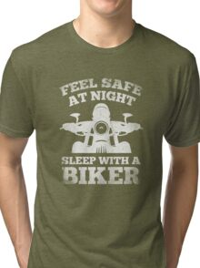 Feel Safe At Night Tri-blend T-Shirt