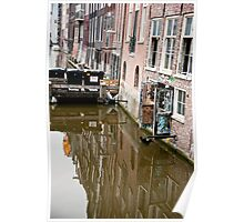 Reflections Of Amsterdam Poster
