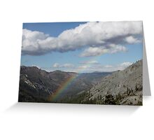 God's Faithful Promise (From Heaven to Earth) Greeting Card