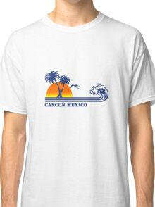 Cancun mexico geek funny nerd Classic T-Shirt