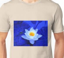 The Peak of Perfection in Blue Unisex T-Shirt