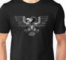 Mayan Eagle - Black Unisex T-Shirt