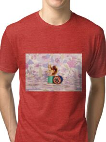 Crafty Squirrel  Tri-blend T-Shirt