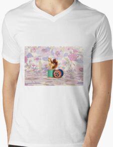 Crafty Squirrel  Mens V-Neck T-Shirt