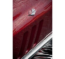 Flooded Sports Car Photographic Print