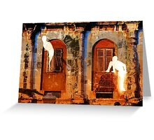 The Essence of Croatia - The Ghosts of Diocletian's Palace Greeting Card