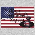 daisy marcela aquino usa flag by daisyusa